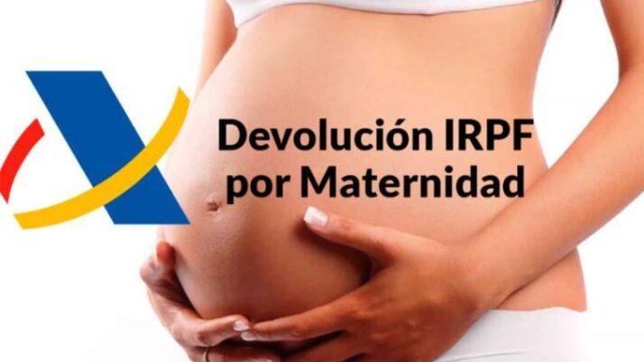 Reclamació IRPF prestacions maternitat
